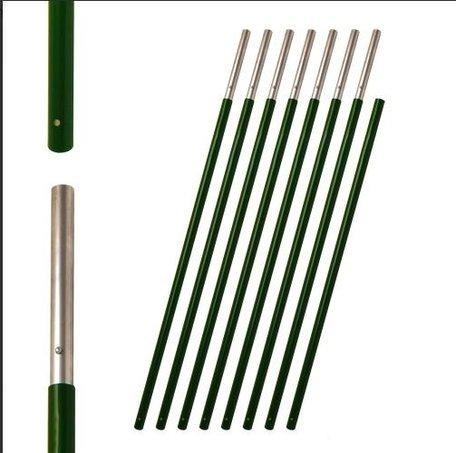 Premium compact lofting poles