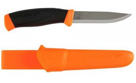 Mora knive compagnon F stainless (orange)