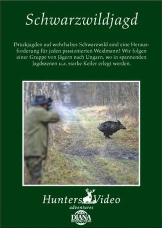 DVD: Hunters video_Schwartzwildjagd