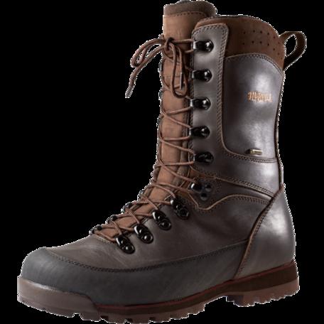 Harkila Trekking GTX 10'' jacht schoen / Dark brown-burgundy