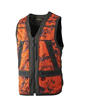 Harkila Lynx veiligheidsvest, AXIS MSP® Orange Blaze/Shadow brown