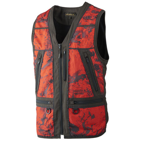 Harkila Lynx veiligheidsvest,  AXIS MSP® Red Blaze/Shadow brown