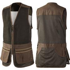 Harkila Sporting schietvest, Dark khaki/Demitasse brown