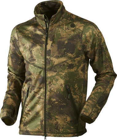 Harkila Lynx full zip Fleece, AXIS MSP® Forest green