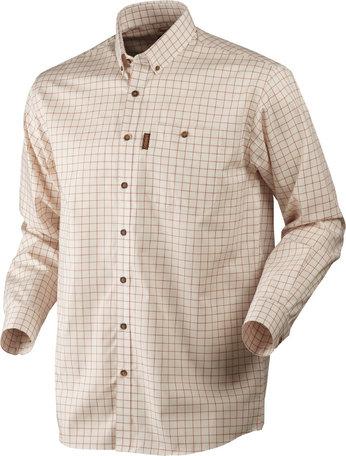 Harkila Stenstorp overhemd, Burnt orange check/ Button-under
