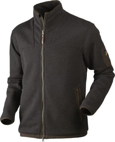 Harkila Norja HSP full zip vest, shadow brown melange