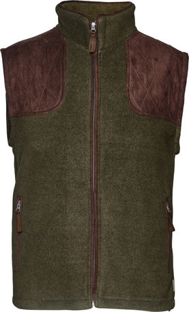 Seeland William II fleece bodywarmer, Pine green