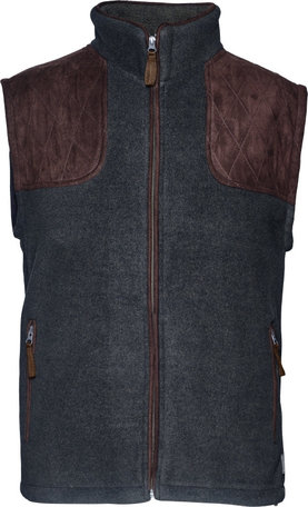 Seeland William II fleece bodywarmer, Navy blue