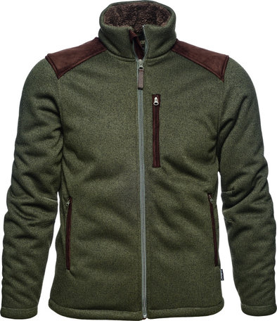 Seeland Dyna knit fleece vest, Forest green