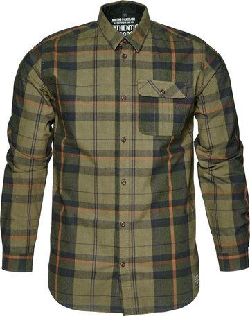 Seeland Conroy overhemd, Duffel green geruit