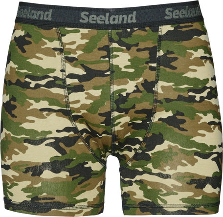 Seeland 2 pack boxershorts, Camo/Forest night