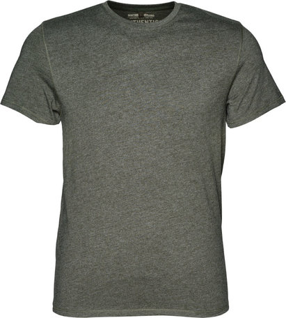 Seeland Basic 2-pack t-shirts, Moose brown/Forest night