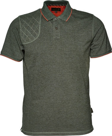 Seeland Clayton Classic polo, Forest Night melange