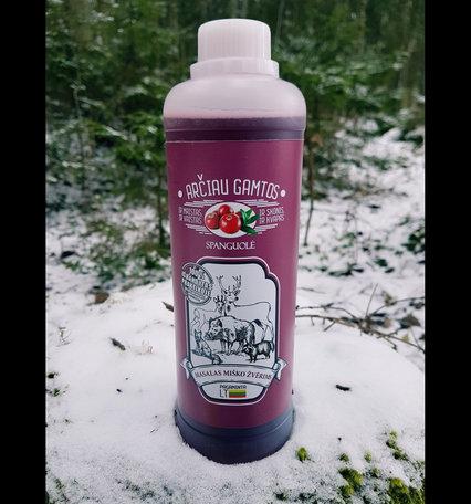 Prospektus lokmiddel voor meerdere diersoorten, cranberry 500ml