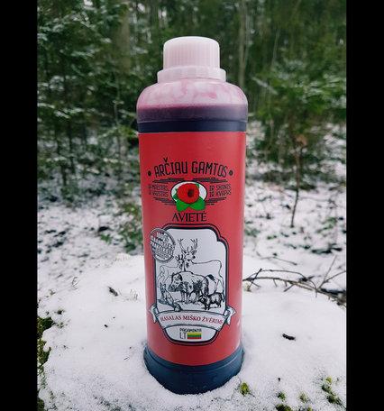 Prospektus lokmiddel voor meerdere diersoorten, raspberry500ml