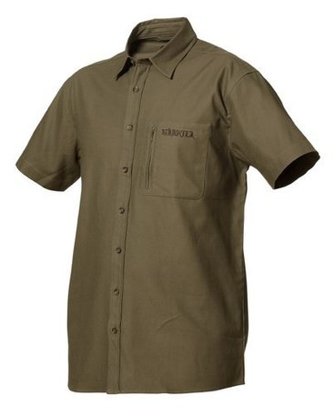 Harkila trekking shirt Green bay groen korte mouwen