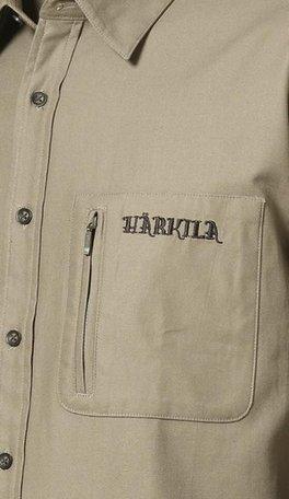 Harkila trekking shirt Timber wolf beige korte mouwen