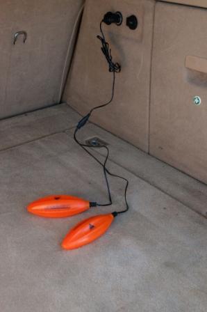 Alpenheat laarzen- en schoenendrogers, AD6 12V orange