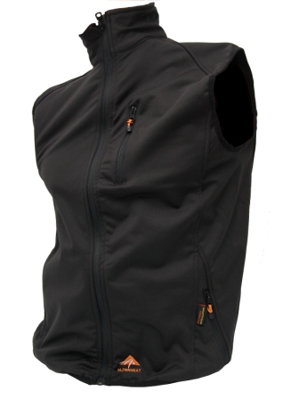 Alpenheat Verwarmd Soft Shell vest