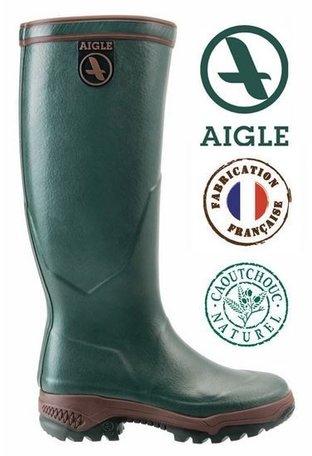 Aigle laars Parcours 2 jersey  voor hem en haar (groen)