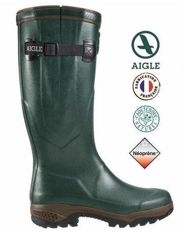 Aigle laars Parcours 2 Iso voor hem en haar (groen)