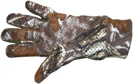 Handschoen camouflage woodland