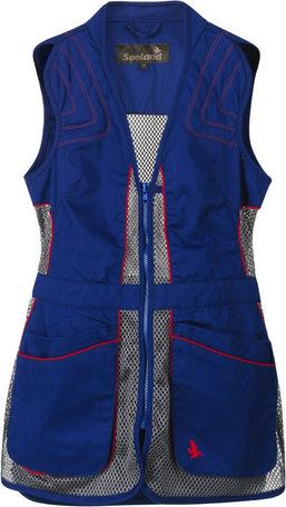 Seeland Skeet II dames schietvest, sodalite blue