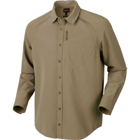 Harkila Herlet Tech overhemd, light khaki