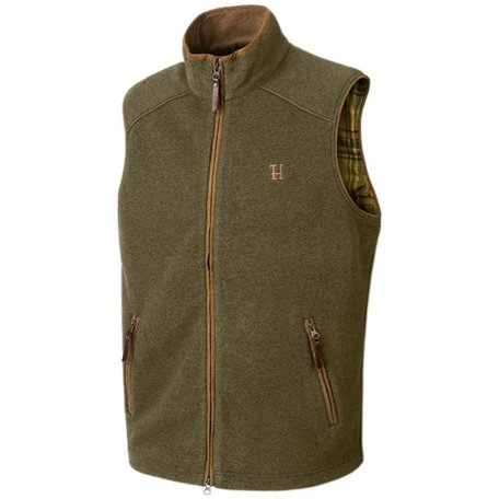 Harkila Sandhem fleece bodywarmer / dusty lake green melange