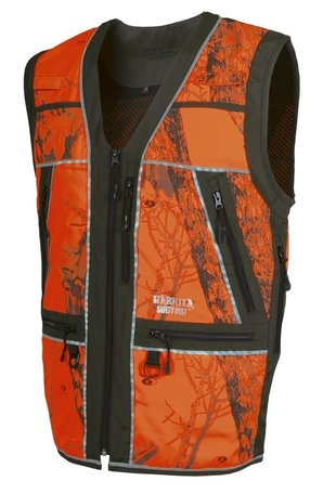 Härkila Safety waistcoat 'Green / orange'