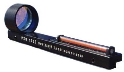 EasyHit PXS 2000 voor op het hagelgeweer