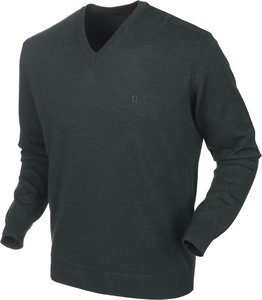 150106112Härkila Glenmore pullover / Deep forest green
