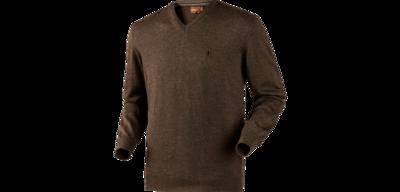150106122Härkila Glenmore pullover / Shadow brown