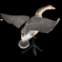 LF25012 Lucky Duck grauwe gans flapper